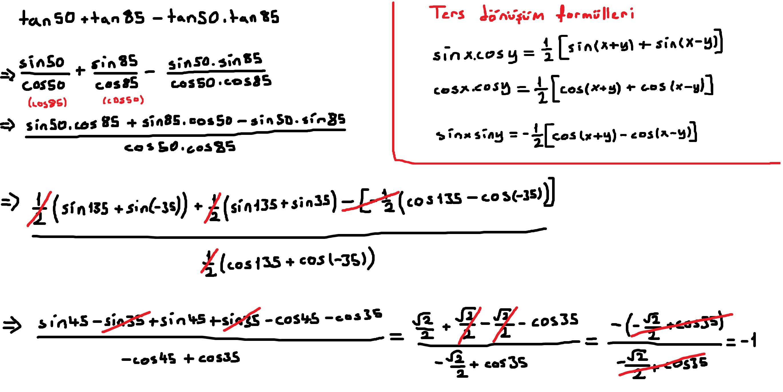 12.sınıf trigonometri