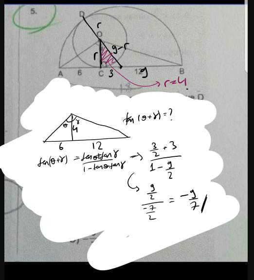 Trigonometri çember sorusu bakar mısınız