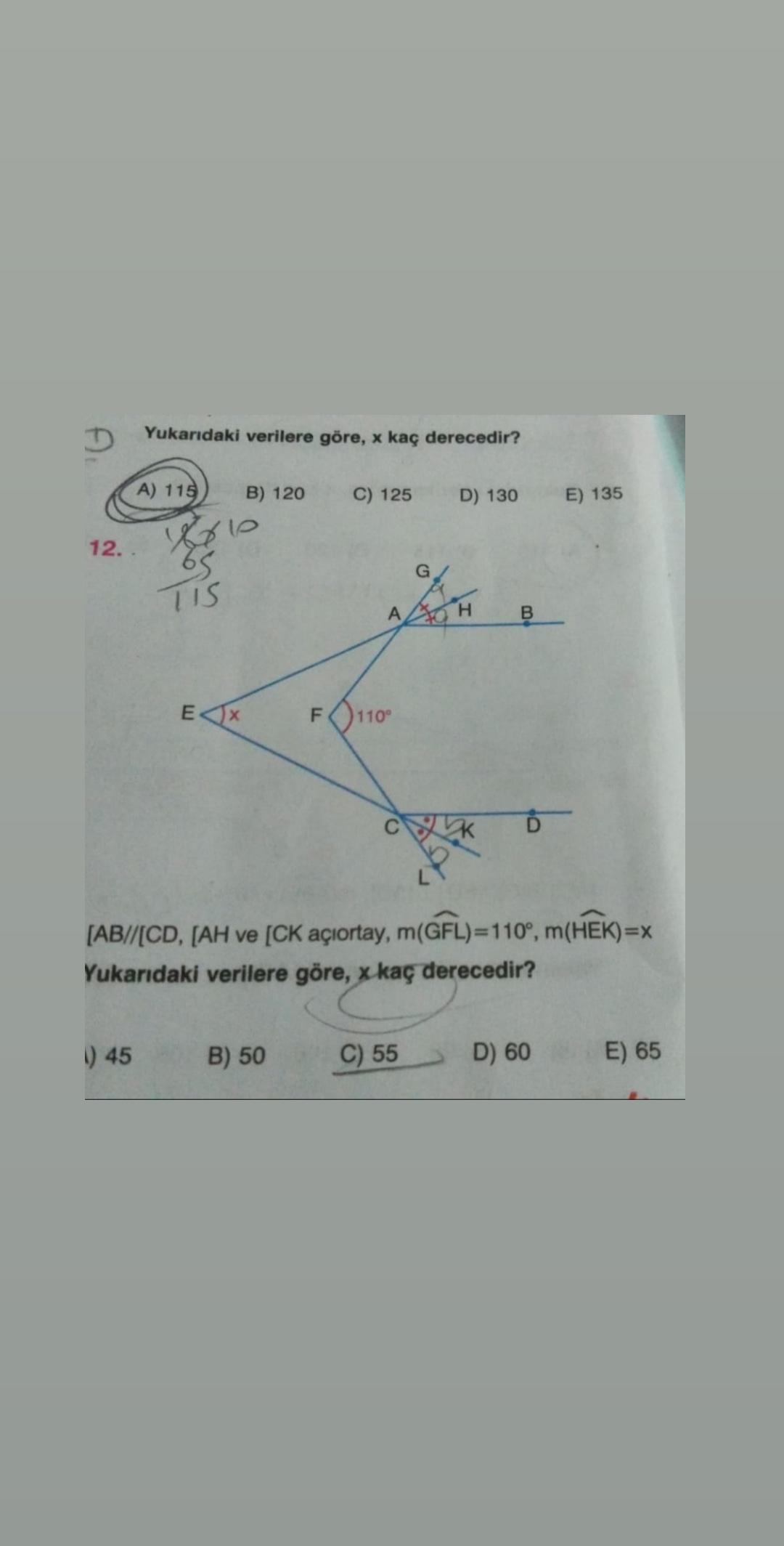 Geometri yardım lütfen