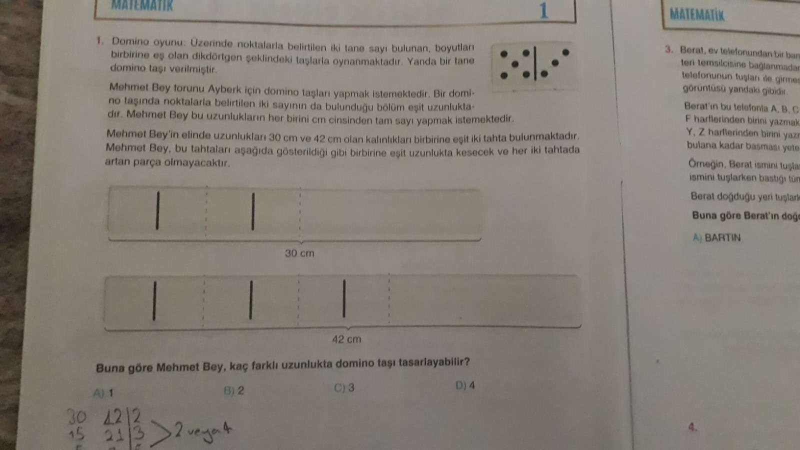 arkadaşlar yardımcı olur musunuz cevap 2