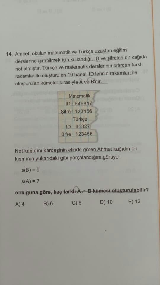 TYT Matematik