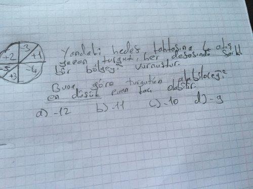 Matematik sorusuuuu