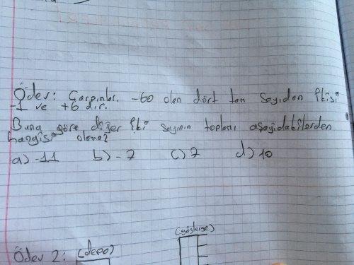 Matematik 7. Sınıf