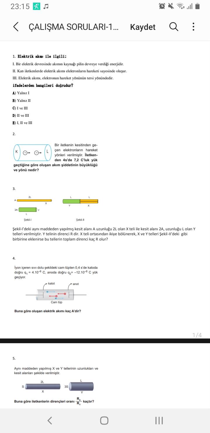 Fizik 1.Ünite